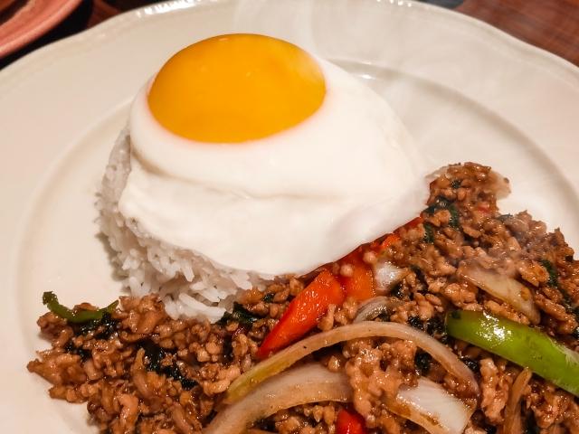 タイ料理「ガパオ」